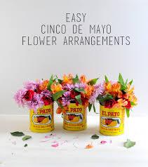 Arrangments Easy Cinco De Mayo Flower Arrangements