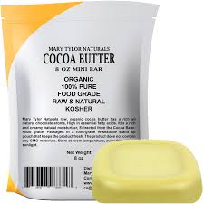 where to buy edible cocoa butter marytylor organic cocoa butter 8 oz by tylor naturals
