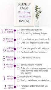 Thank Yous On Wedding Programs Guest Post Your Wedding Invitation Timeline Designs By Kayla