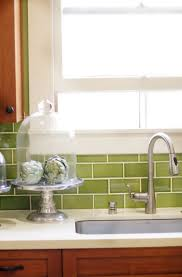 green backsplash home design ideas
