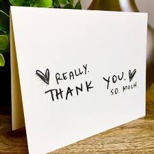 set of 10 cards thank you card set unique style simple thank you