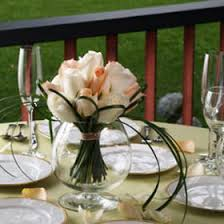 White Roses Centerpiece by Cheap Wedding Centerpieces In Bulk Peach U0026 White Roses Global Rose