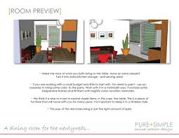What Is A Dining Room Pure Simple Online Interior Design Samples Interior