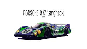 porsche 917 art porsche 917 langheck full hd wallpaper and background 3000x1688