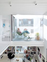 contemporary nordic town house dwell next to the bathroom and