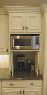 kitchen microwave ideas cabinet details specialty cabinets traditional kitchen