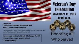 Veterans Flag Depot Veteran U0027s Day Celebration Calendar Month View Caldwell Id