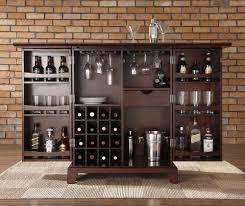 Folding Home Bar Cabinet Storage Wine In Bar Cabinet Home Decorating Designs