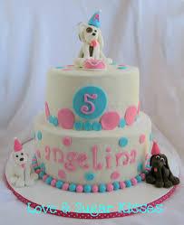 love u0026 sugar kisses puppy party cake