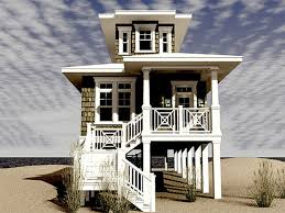 Narrow Lot Beach House Plans by Bedrooms With Two Beds Narrow Lot Beach House Plans Beach Houses