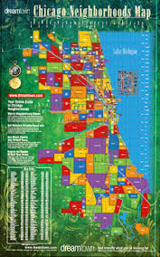 chicago map chicago neighborhoods map town realty