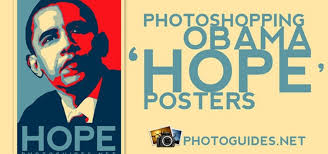 membuat poster photoshop cs3 how to create a shepard fairey hope poster in photoshop