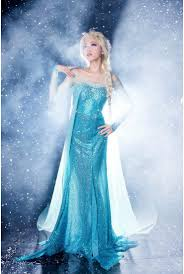 frozen sparkle blue princess elsa costume n9189