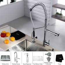 kitchen sink and faucet sets farmhouse style kitchen faucets