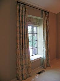Fabric Drapes Fancy Window Treatments Ideas For Living Room With Waverly Fabric
