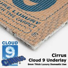 Can You Lay Laminate Flooring On Carpet Underlay Cloud 9 Cirrus Carpet Underlay Buy Cloud 9 Cirrus Online More