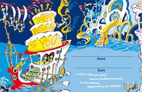 happy birthday dr seuss happy birthday to you dr seuss book birthday cake ideas
