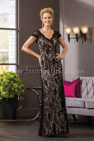 Mother Of Bride Dresses Couture by Jasmine Bridal Jade Couture Style K188057 In Black Latte Fall