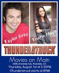 taylor gray taylor tristin thunderstruck movie meet thunderstruck