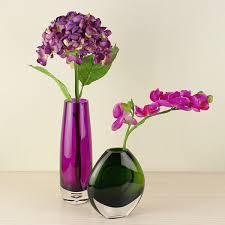 Modern Glass Vase Aliexpress Com Buy Simple Modern Dark Green And Purple Glass