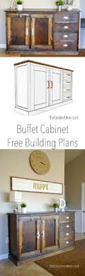free building plans buffet cabinet free building plans the creative