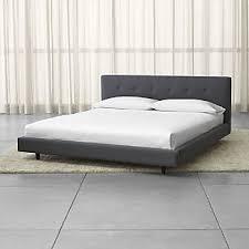 Platform King Bed Platform Beds Crate And Barrel