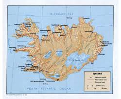 Iceland Map World Maps Of Iceland Detailed Map Of Iceland In English Tourist Map