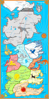 Map Of Westeros World by Map Of The Political Boundaries Resources A Game Of Thrones