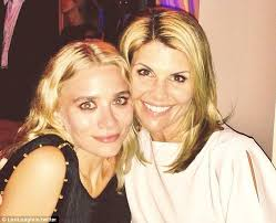 Lori Loughlin Thong - ashley olsen and lori loughlin cuddle up together as they attend