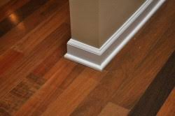 how to install baseboard and shoe molding for hardwood floors