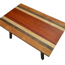 Yew Side Table Buy A Custom Made Modern Table Mixed Wood Table Figured Mahogany