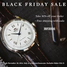 black friday deals on mens watches save big this black friday orient watch usa