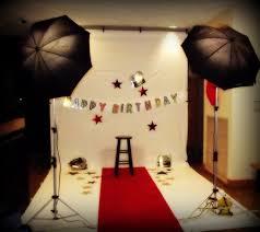 Hollywood Halloween Party Ideas Hollywood Theme Birthday Photo Shoot Setup Fabulous Party Ideas