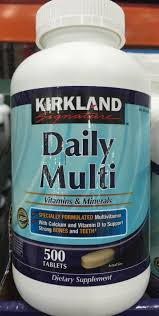krikland kirkland daily multi vitamins and minerals harvey cares