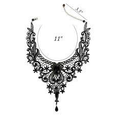 vintage lace necklace images Fashion goth necklaces for women 2017 beauty girl handmade jewelry jpg