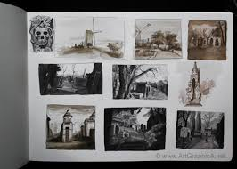 the art of thumbnail sketching and compositional value studies