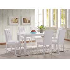 white wood dining table and chairs prepossessing decor cheap white