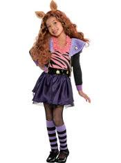 Werewolf Halloween Costumes Girls Girls Monster Clawdeen Wolf Costume Party