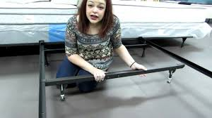 Bed Frame Metal Queen by Full Queen Metal Bed Support An Easy To Assemble Bed Frame