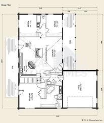 ranch style log home floor plans hollow log home floor plan floor killdeer cabin