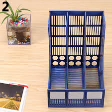 File Desk Organizer by Magazine File Stand Holder Home Office Document Storage Desk