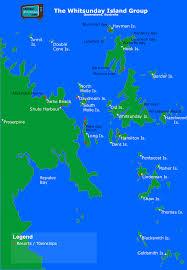 Map Of Kiawah Island Whitsunday Islands