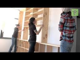 Build A Simple Wood Shelf Unit by Diy Shelving Unit With Allison Oropallo No Man U0027s Land Youtube