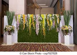 wedding backdrop graphic flower and foamboard backdrop maw wedding backdrop and reception