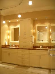 bathroom attractive chandelier with yellow shade create awesome