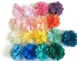 flowers for headbands headband flowers etsy