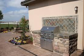 outdoor kitchen backsplash outdoor grill backsplash custom outdoor kitchen with granite
