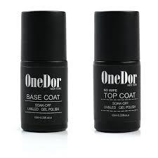 amazon com onedor one step gel polish uv led cured required soak