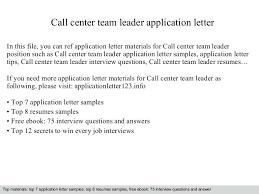 Team Leader Resume Format Bpo Resume Samples For Team Leader Position 5 Sample Resume For Team