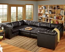 Large Sectional Sofa With Chaise by Leather Modular Sofa Leather Loveseat Oversized Sectional Sofas